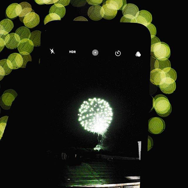 Fireworks through another lens