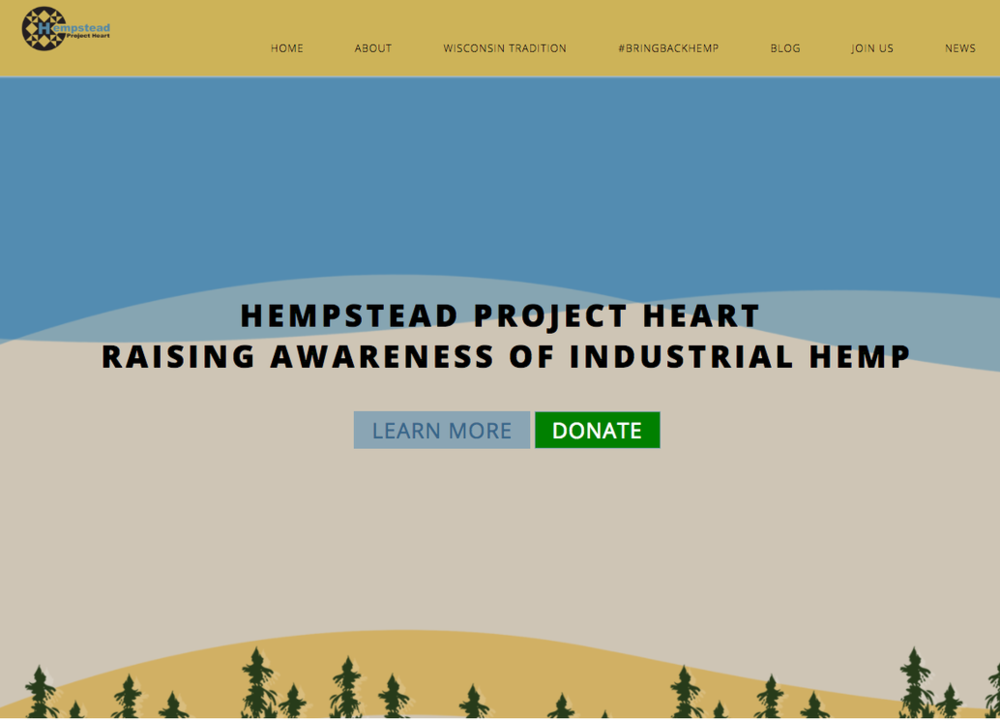 HempStead raises awareness of the benefits of industrial hemp for people and the planet.