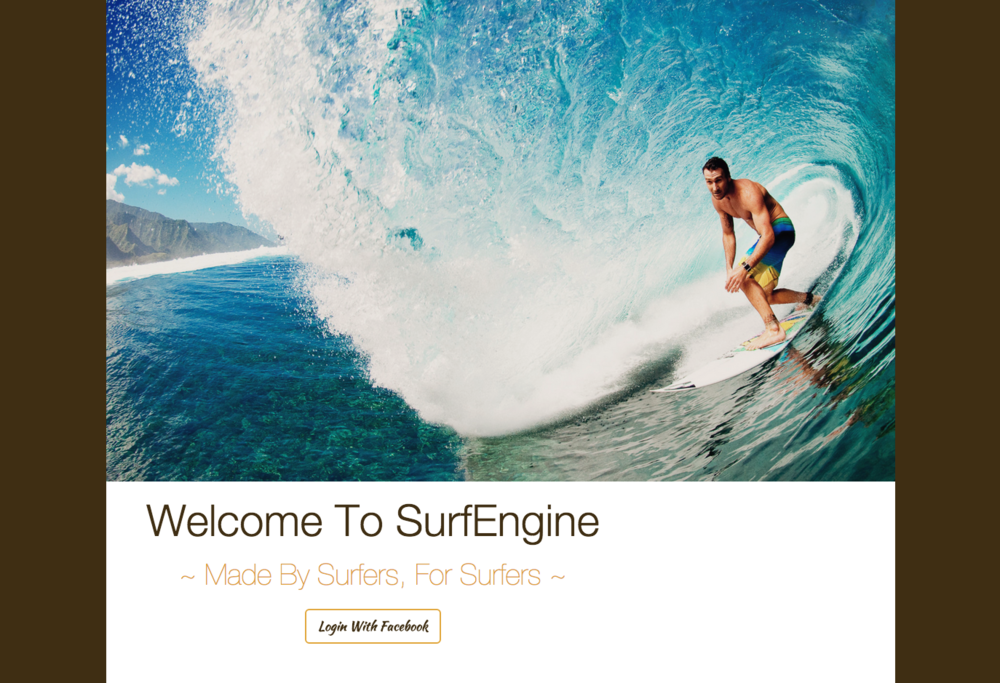 Surf Engine is the world's first search engine for North American surfing spots.