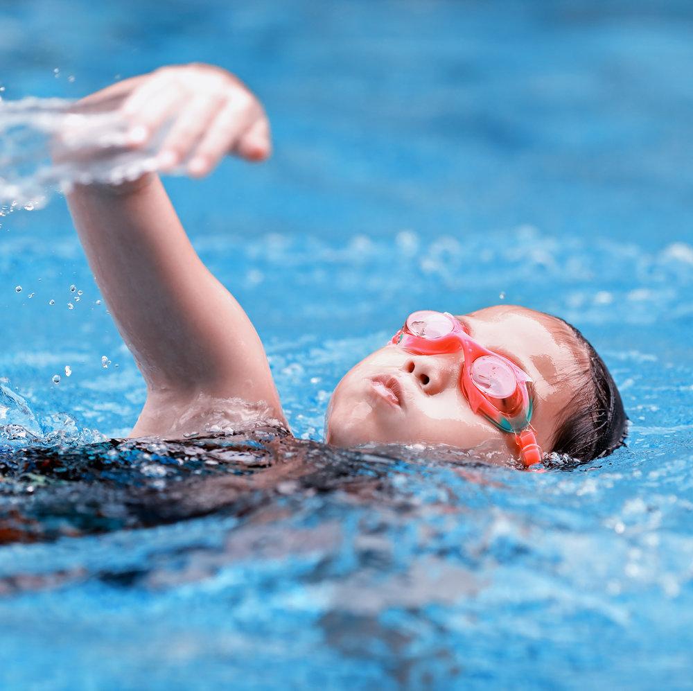 Uimakoulu - Järjestämme uimakoulun kaksi kertaa vuodessa.