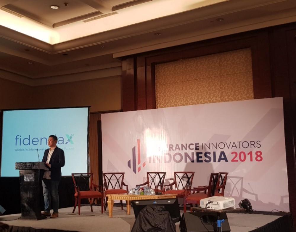 fidentiaX at Insurance Innovators Indonesia 2018
