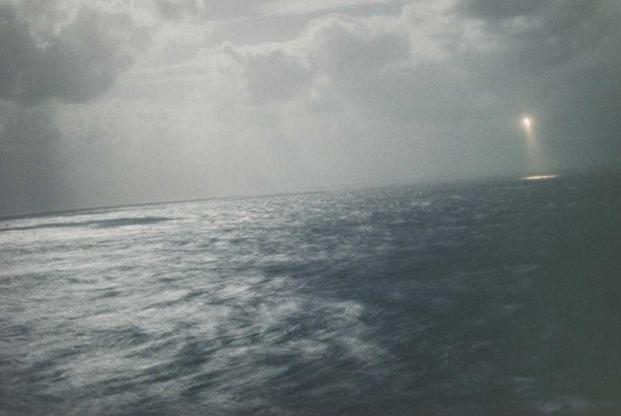 Wolfgang Tillmans,  Italian Coastal Guard Flying Rescue Mission off Lampedusa , 2008