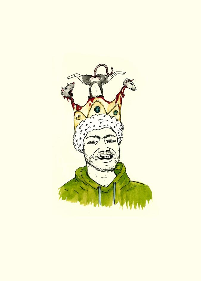 Rot Koning - so droog hy