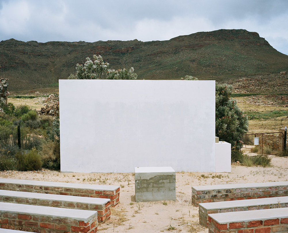PROJECTION SCREEN, CEDERBERG ASTRONOMICAL OBSERVATORY, CEDERBERG