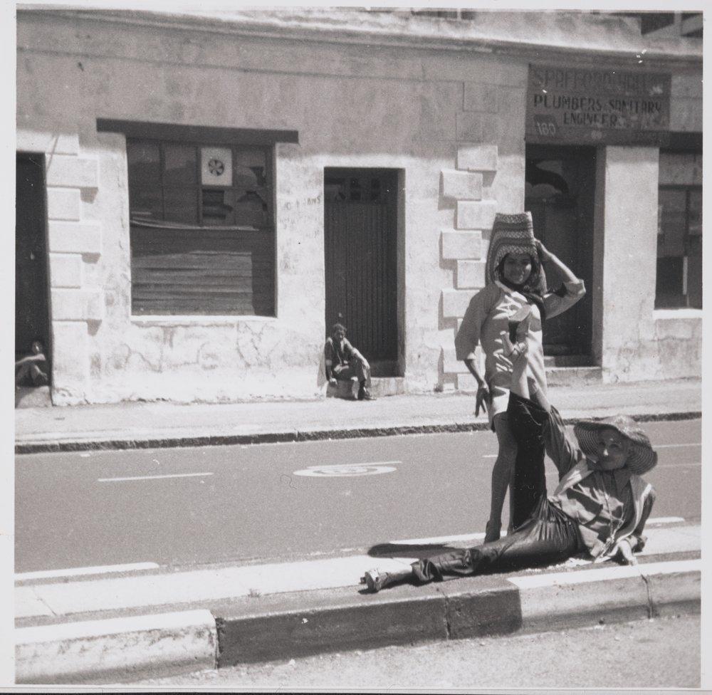 Kewpie and Gaya on Sir Lowry Road