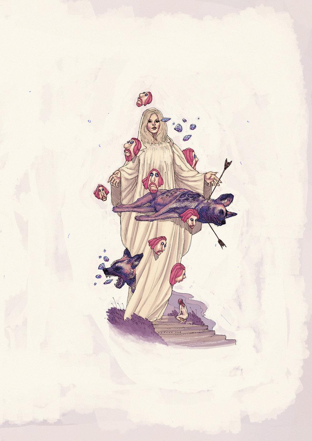 Illustrasie deur  Octavia Roodt