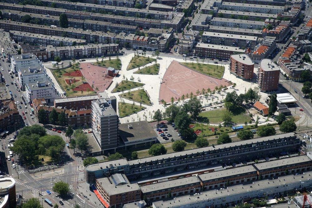 Transvaalkwartier van bo (2006) / Foto: Willem Vermeij