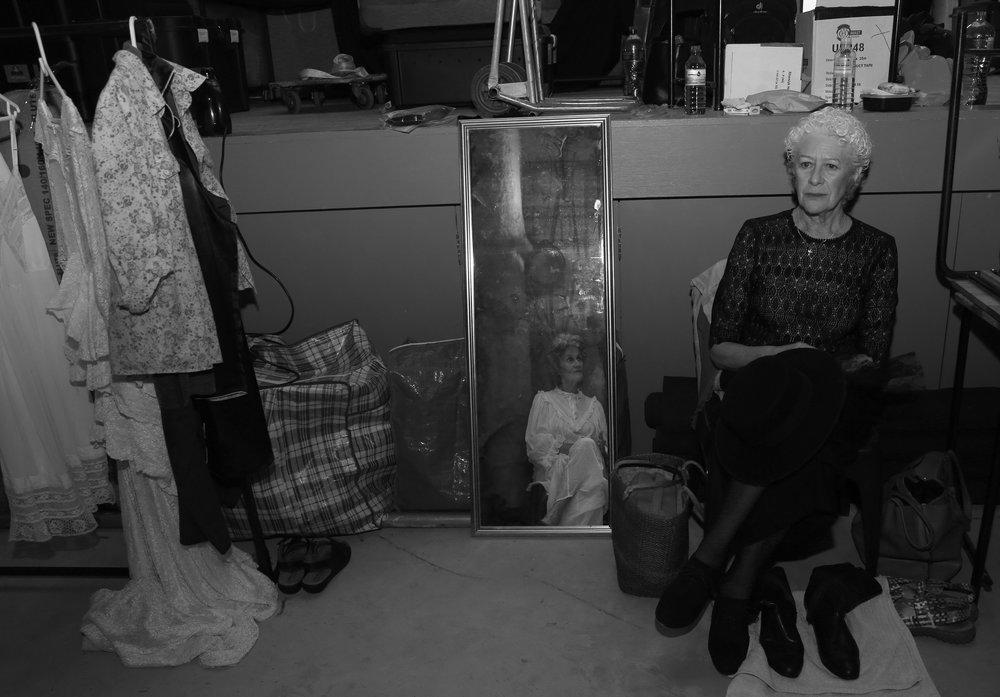 Antoinette Kellerman in 'Die huis van Bernarda Alba', Stellenbosch