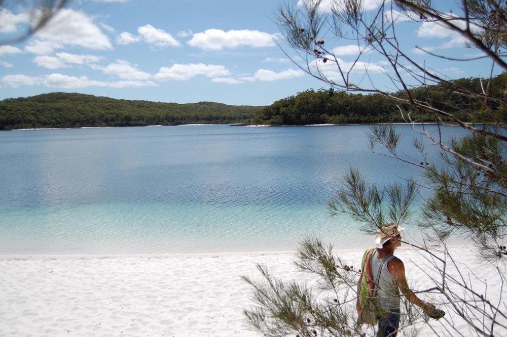 Fraser Island, Australia.