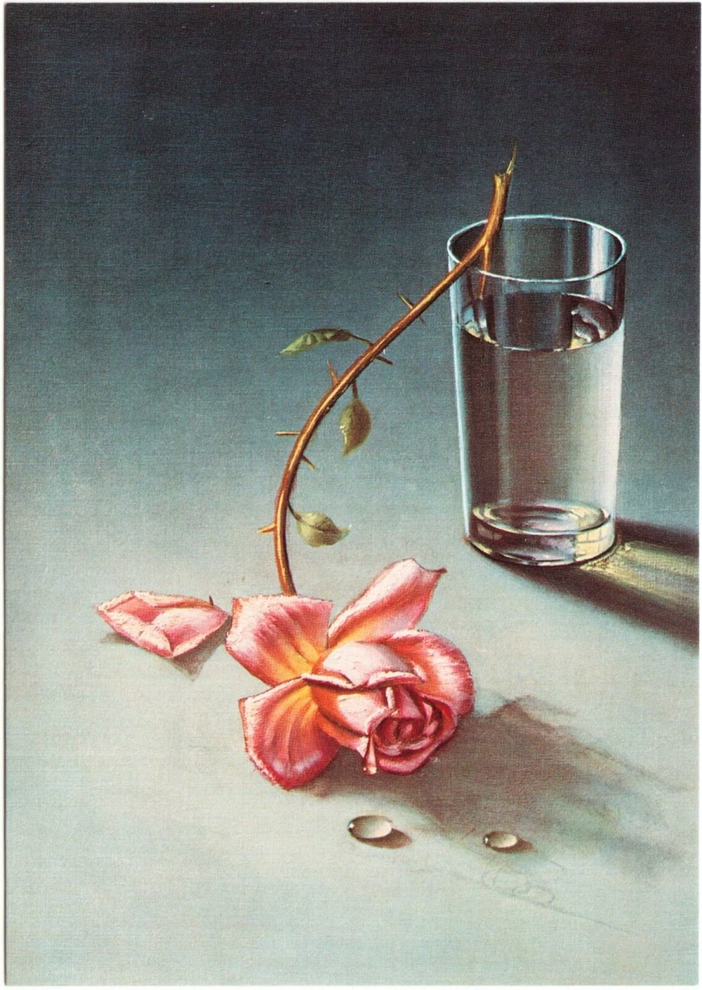 Vladimir Tretchikoff,  Weeping Rose  (1949)