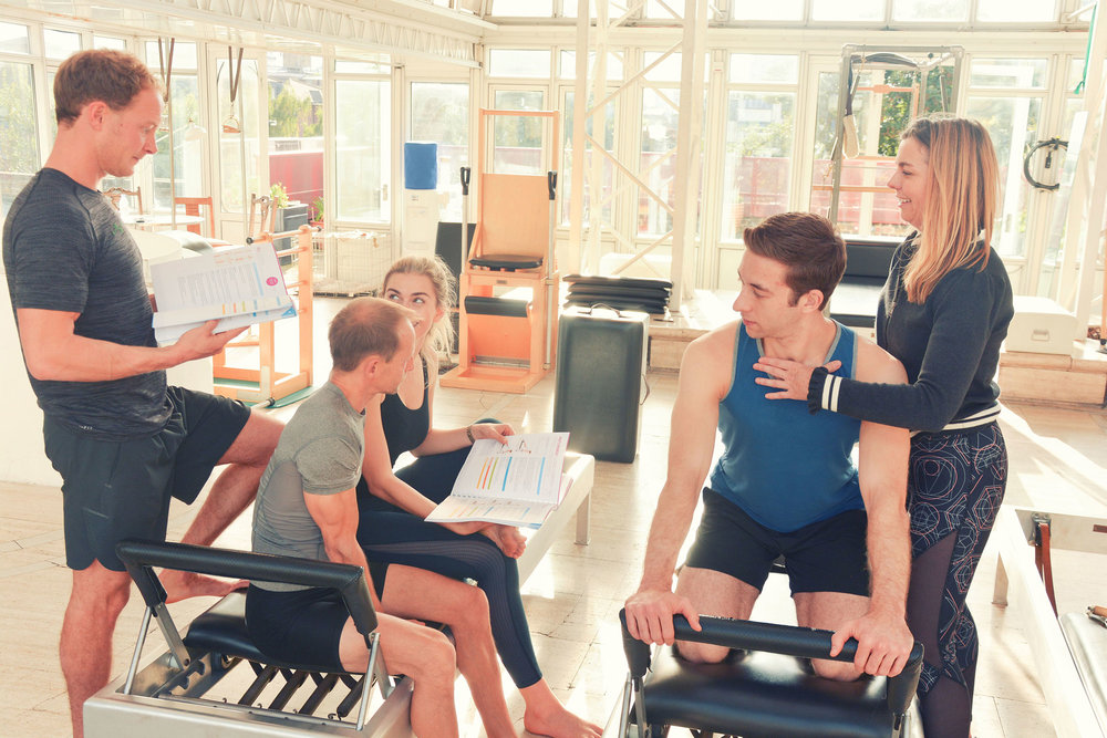 FULL COMPREHENSIVE - The apparatus training at Pi is a Full Comprehensive Training Programme. It is an in-depth study of all of the classical material as developed by Joseph Pilates. Through a series of 5 modules you will explore all the exercises on all the apparatus.