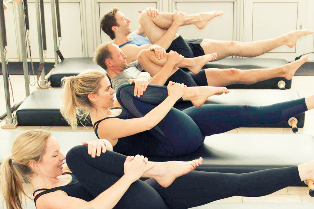 GROUP CLASSES - We offer a full programme of 55 minute Classical Pilates classes using a wide range of equipment.