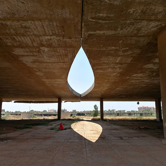 Memories from a trip to Oscar Niemeyer's unfinished International Fairground in Tripoli, Lebanon. Commissioned in 1963, the development fell into ruin after construction was abandoned in 1975 at the outbreak of the Lebanese civil war #architecture #lebanon