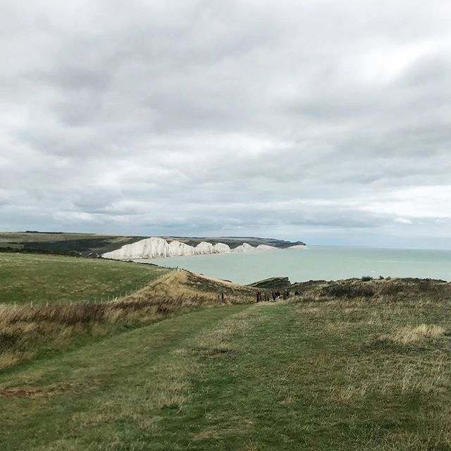 Somewhere between Seaford and Cuckmere Haven #sevensisters #eastsussex