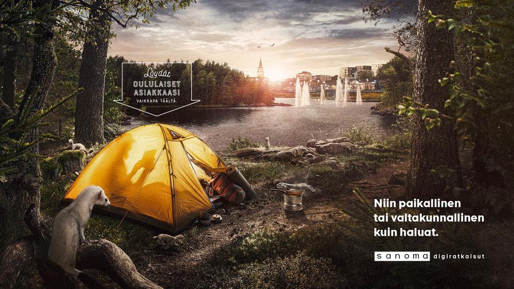 Sanoma -Oulu