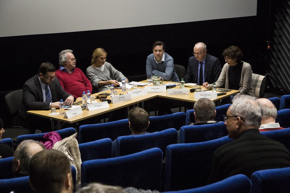 Diskusia: Slovenská filmová krajina - zdroje a rezervy. (foto: Febiobest)