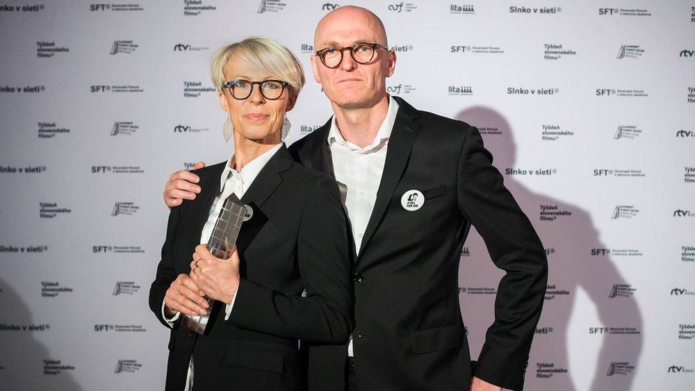 Diera v hlave - Barbara Janišová Feglová a Robert Kirchhoff. Foto: SFTA / Daniel Dluhý