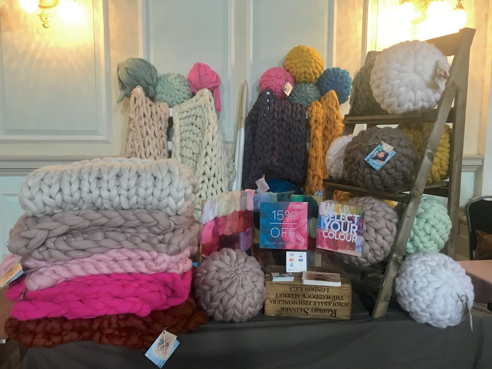 """We loved your stall. Looking forward to choosing what to order!"" Lisa D."