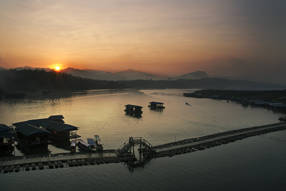 Sangkhla Bridge Sunrise.jpg