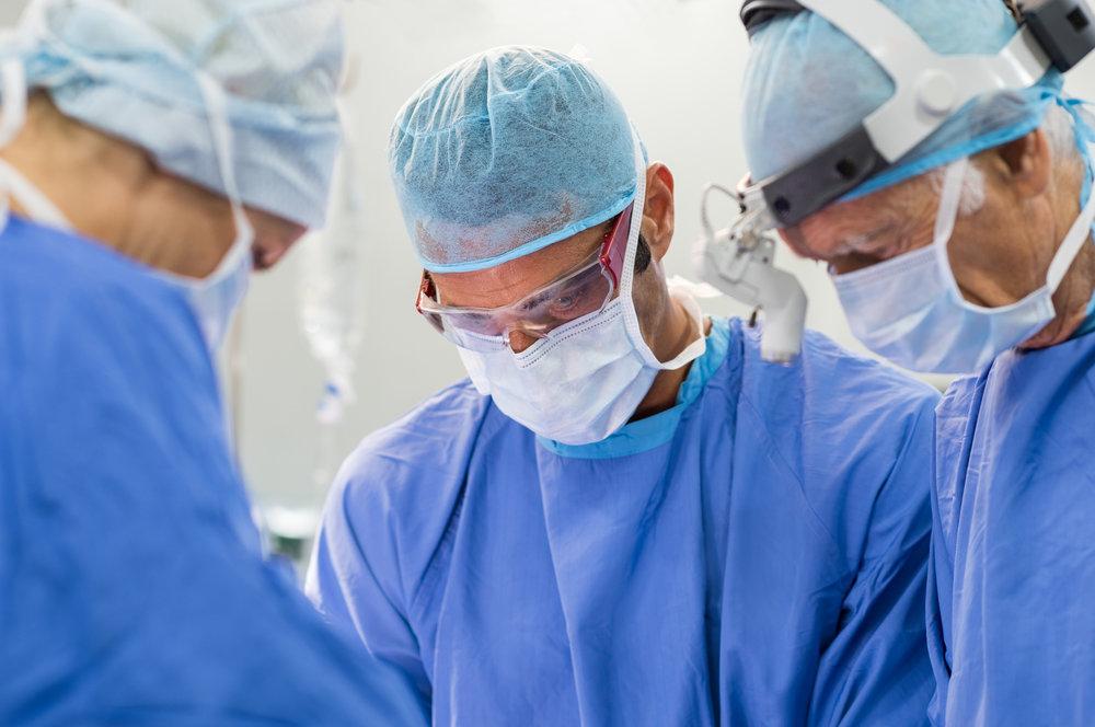 Procedimientos quirúrgicos -