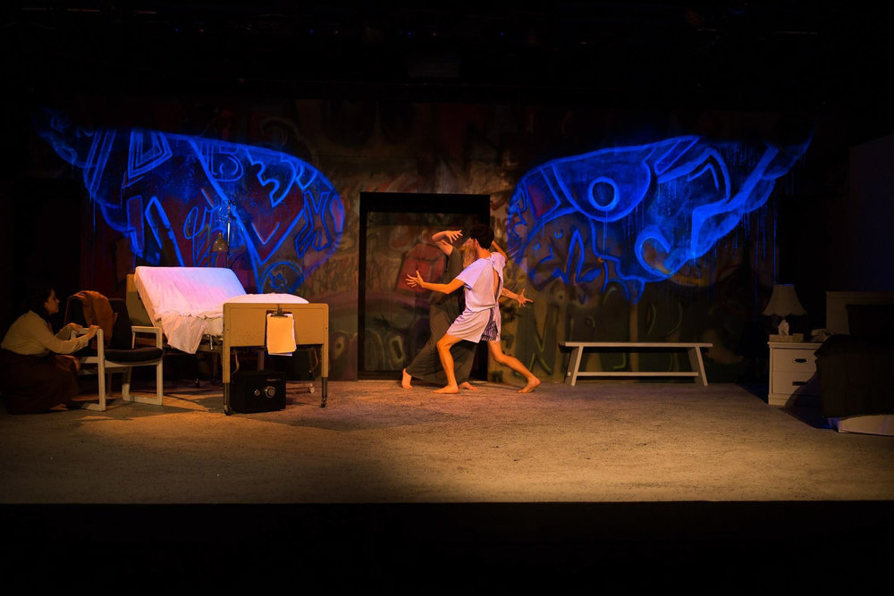 Angel in struggle during Angels in America: Perestroika