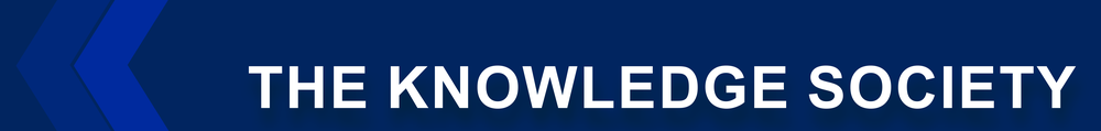 The Knowledge Society page banner.