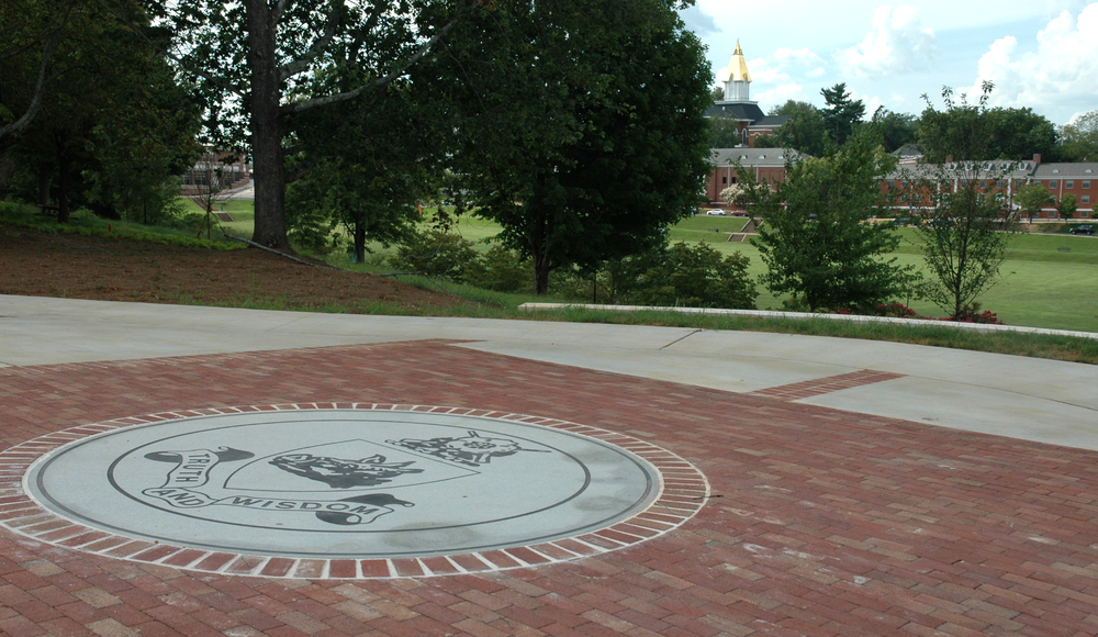 Colonel Ben Purcell Formation Plaza at the University of North Georgia Dahlonega campus.
