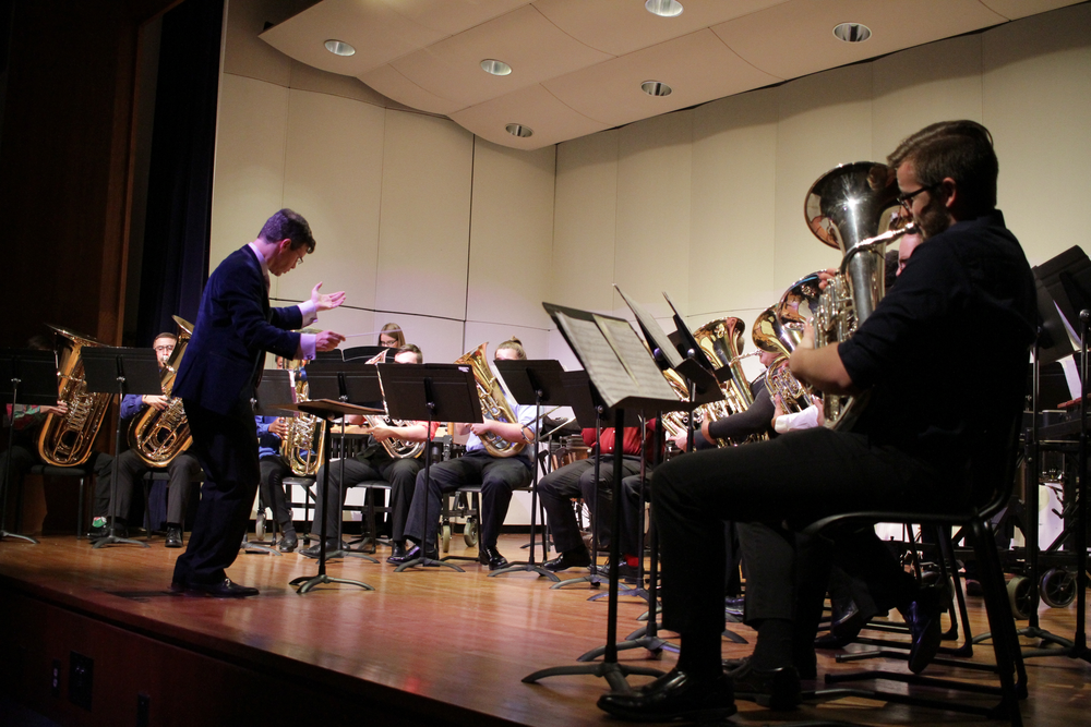 The Department of Music hosts OctTubaFest with it's top Tuba playing students.