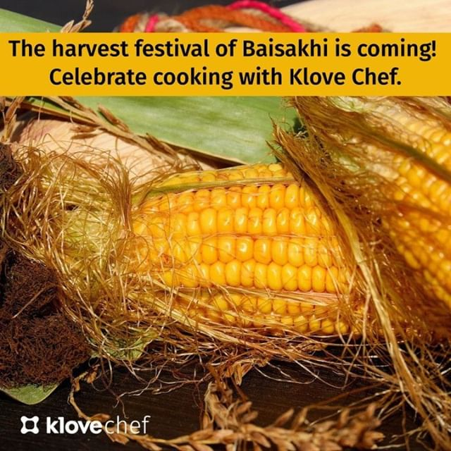 """The harvest festival of Baisakhi is right around the corner. You know what that means - tons and tons of tasty food to gorge on with your friends and family!⠀ ⠀ KloveChef can help you can make this Baisakhi special with the best delicacies that will only leave everyone wanting more! Just say """"Hey Alexa, Open KloveChef"""" and ask for your favorite recipe.⠀ ⠀ Also, take a look at www.klovechef.com/letscook to make the most of your KloveChef cooking experience.⠀ .⠀ .⠀ .⠀ #KloveChef #Alexa #voice #voicefirst #cooking #loveforcooking #allaboutfood #foodie #CookingAssistant #GoogleHome #cook #kitchen #AmazonEcho #baisakhi #baisakhi2019 #baisakhirecipes #baisakhifood #baisakhispecial"""
