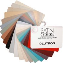 Lutron colour palette
