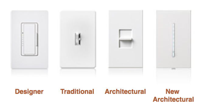 Lutron product styles