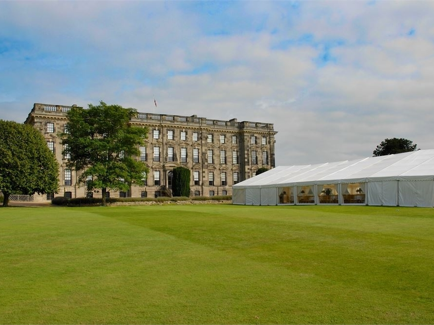 Stoneleigh Abbey - Stoneleigh Abbey is a stunning venue choice if you're looking for a rustic wedding style with a versatile Marquee Wedding offering custom built decor.Set on an incredible 630 acres, this country estate was awarded The Midlands Asian Wedding Awards