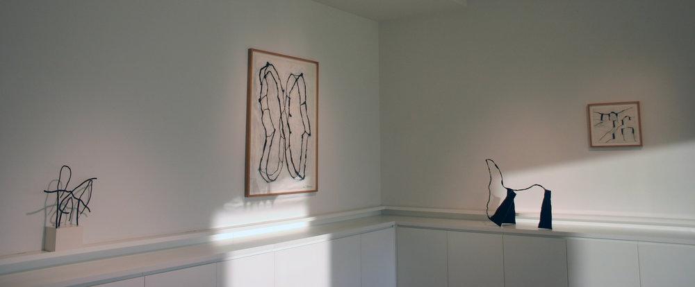 Haim Chanin Fine Arts. Exhibition Dominique Labauvie. Installation view.