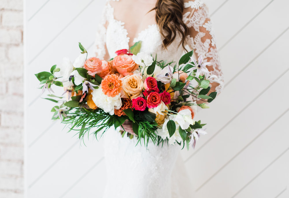 KC WEDDING DRESS - FLOWERS - FLORAL