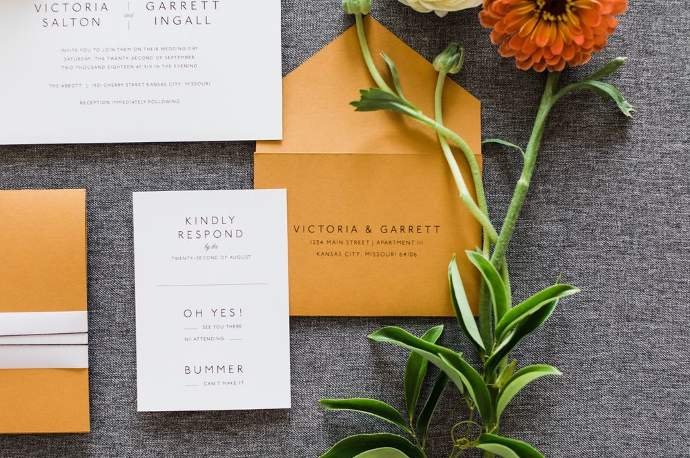 KANSAS CITY - BRIDE BLOG - STATIONARY