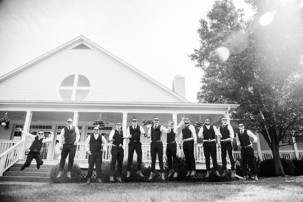 wedding day group photos_kc bride
