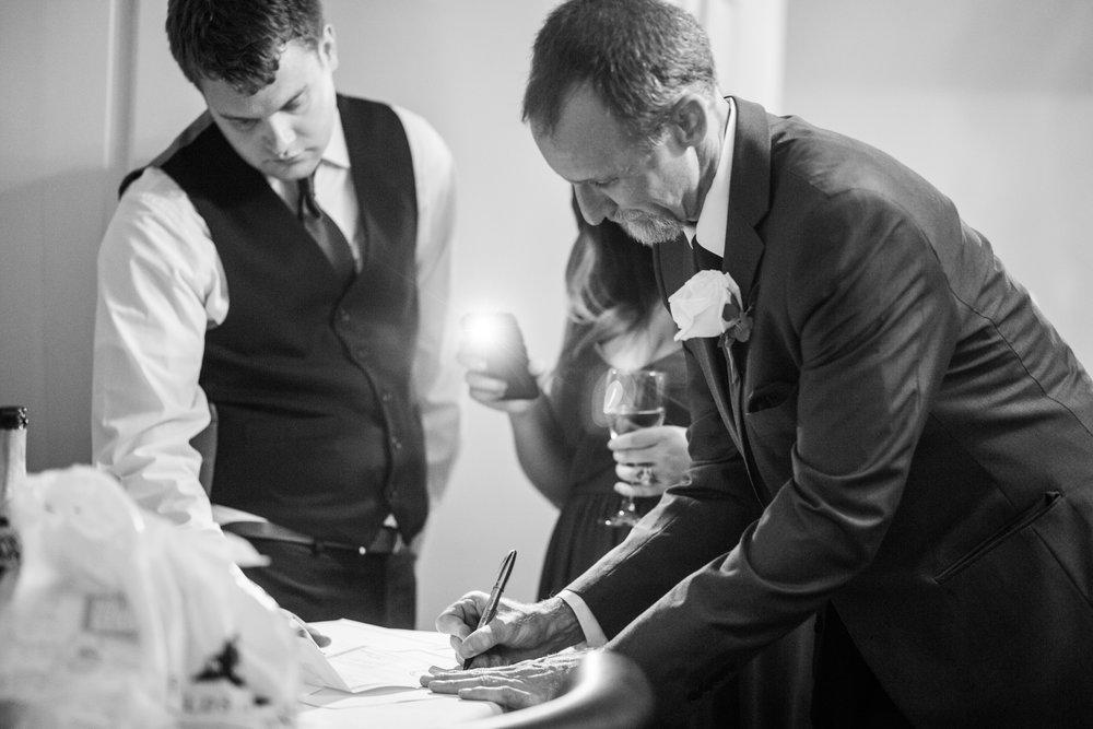 emotional wedding blog_how he asked