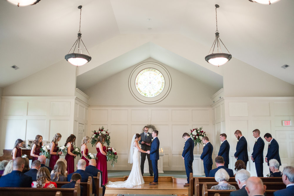 intimate midwest wedding_local bridal shops