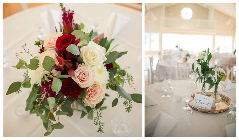 summer wedding floral arrangements