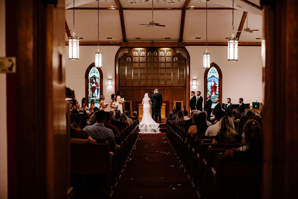 modern traditional wedding