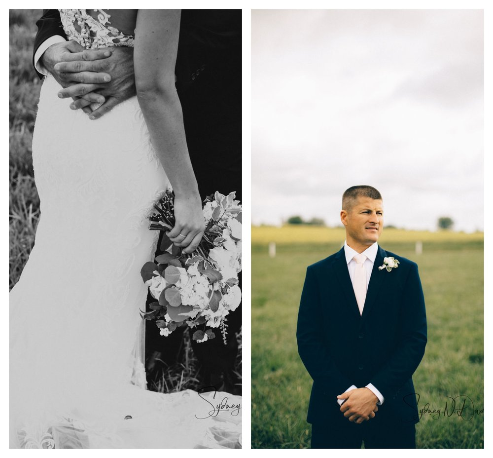bride and groom blog