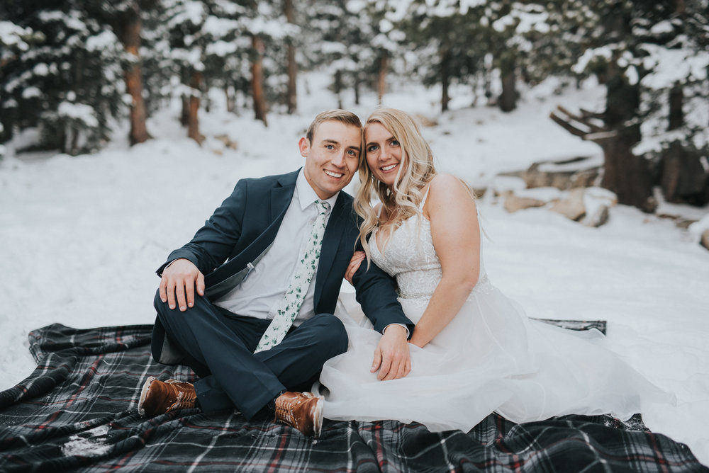 winter kansas city wedding