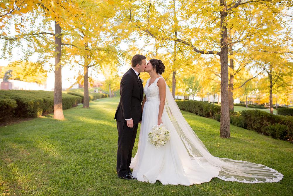 fall wedding_bridal portraits