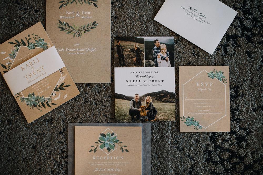 wedding stationary_kansas city