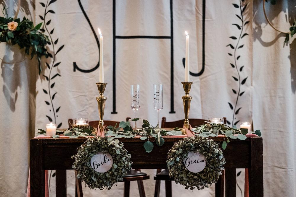 Head Table Wedding Inspiration