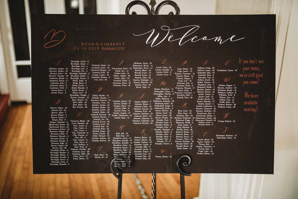 Wedding Day Seating Chart_How To