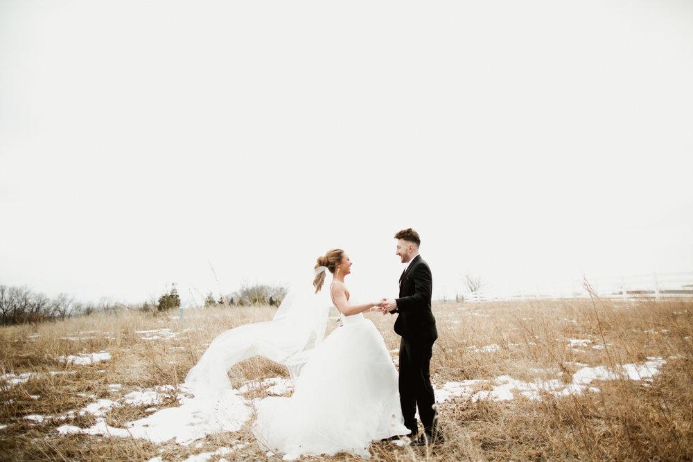 Nouvelle Amsale Bridal Gown in Kansas City