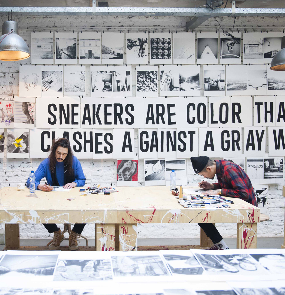 When Converse released the All Star Chuck '70 Sneaker in bright bold primary colours, we were tasked with bringing the campaign to life across EMEA. We came back with Colour Clash, a print campaign and series of events to drench Europe with colour everywhere the sneaker dropped. -
