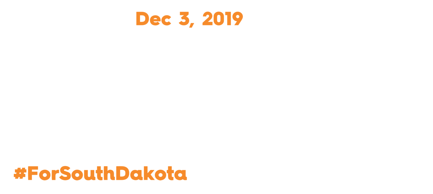 South Dakota Day of Giving / Giving Tuesday, DEC 3, 2019