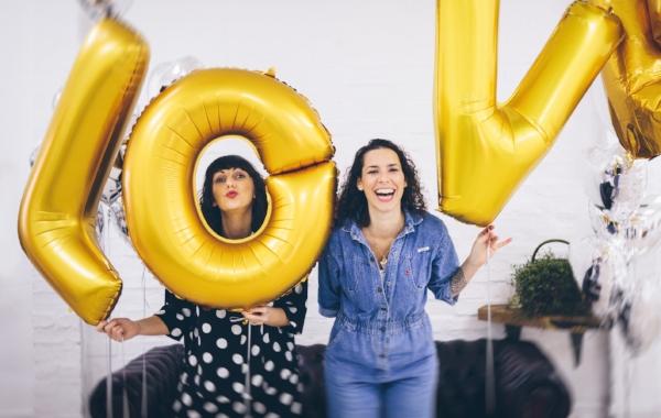Vicki and Selina and love balloons.jpg